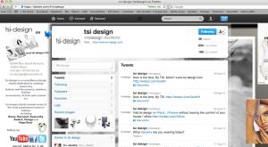 Customized Tsi Design Twitter Profile