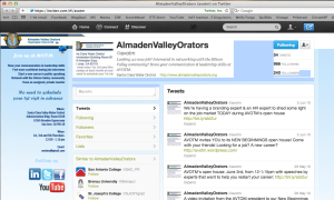 Customized Twitter Profile