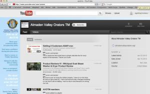 Customized YouTube Profile